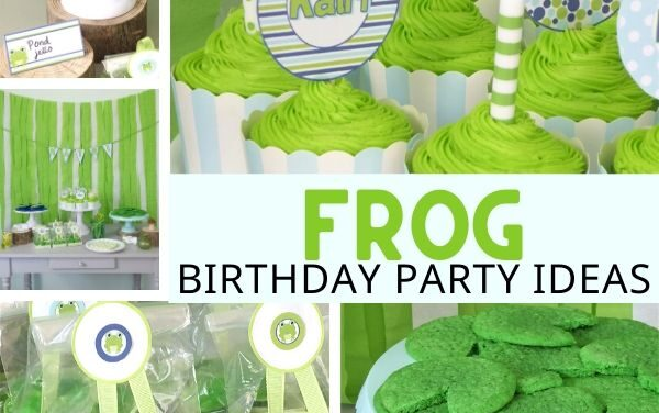 Fun + Budget Friendly Frog Birthday Party
