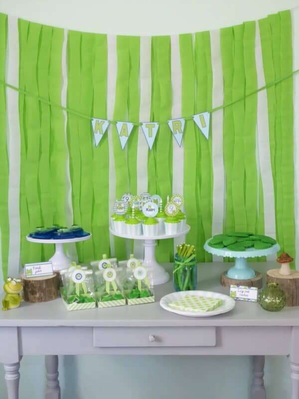 Fun Budget Friendly Frog Birthday Party Mimi S Dollhouse