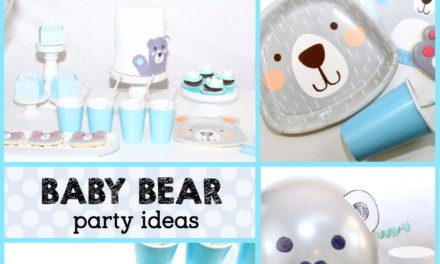 Style a Sweet Bear Baby Shower