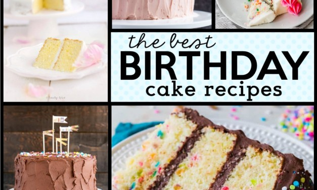 55 Delicious Birthday Cake Recipes
