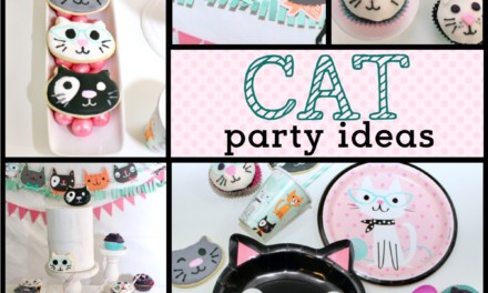 Throw the Purr-fect Cat Themed Birthday Party
