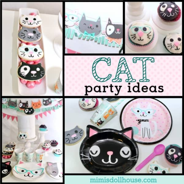 Lets Partycat Style Here Are Some Fun Ideas And Super Cute Cat Party Decorations To Inspire The Planner In You Also We Will Walk Through How