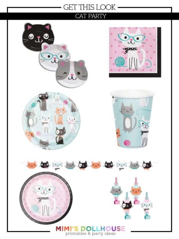 Throw The Purr Fect Cat Themed Birthday Party