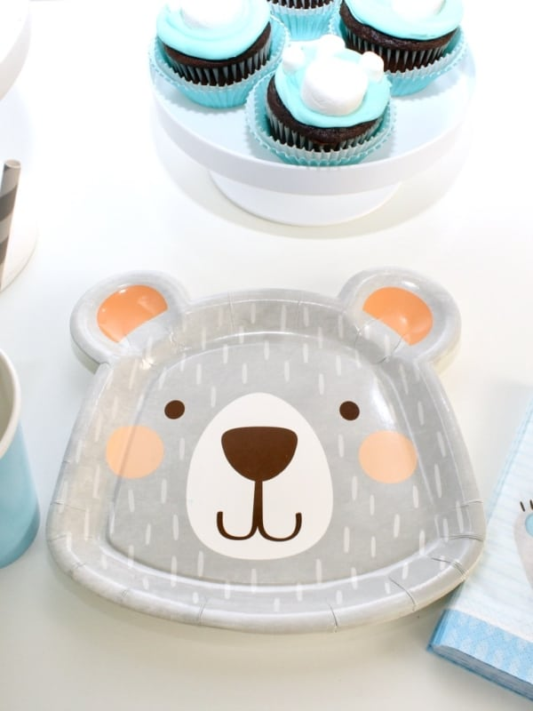Me To You Tableware Set for 30 People Teddy Party Pack Birthday Baby Shower