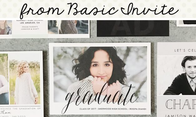 No Stress Graduation Invitations + Coupon Code