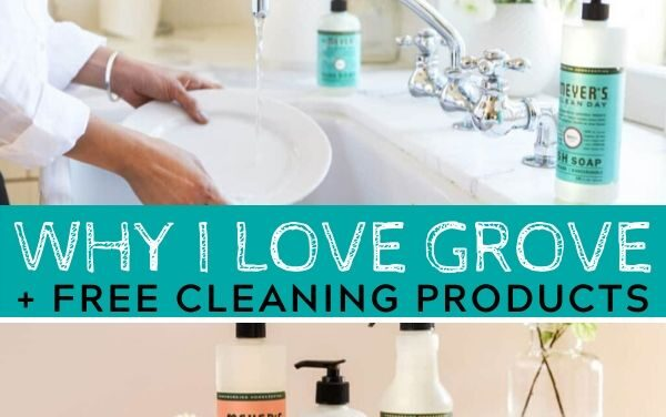 Why I Love Grove + Free Cleaning Products