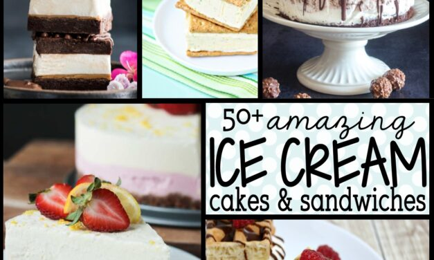 50+ Perfect Ice Cream Cakes for Summer
