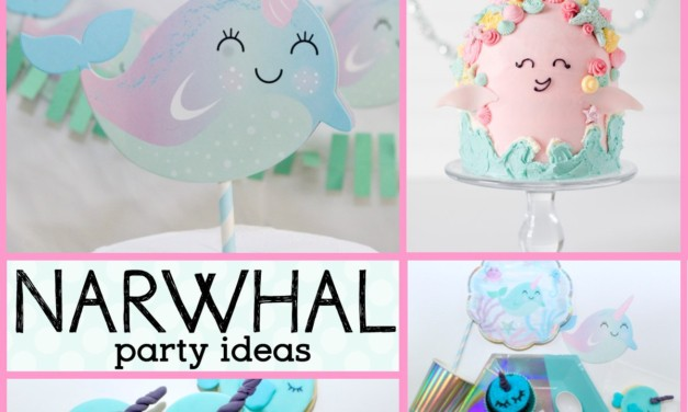 Delightful Narwhal Birthday Party Ideas