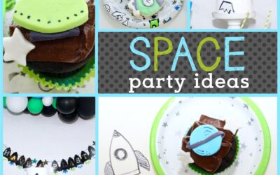 How to Throw a Kids' Space Themed Party