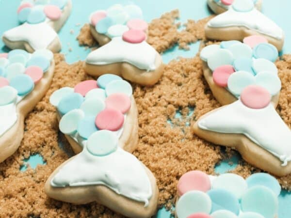 easy mermaid cookies