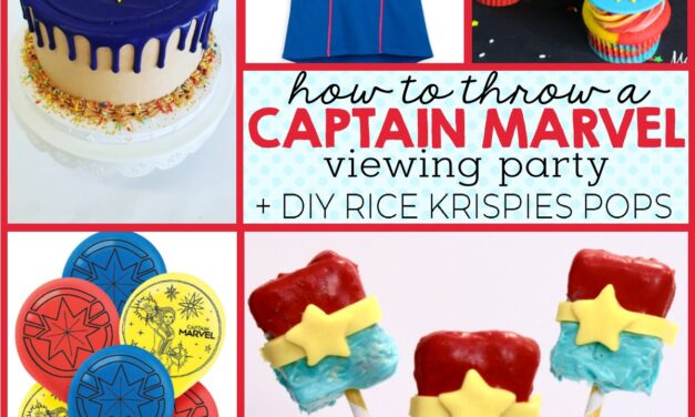 Marvelous Captain Marvel Party Ideas