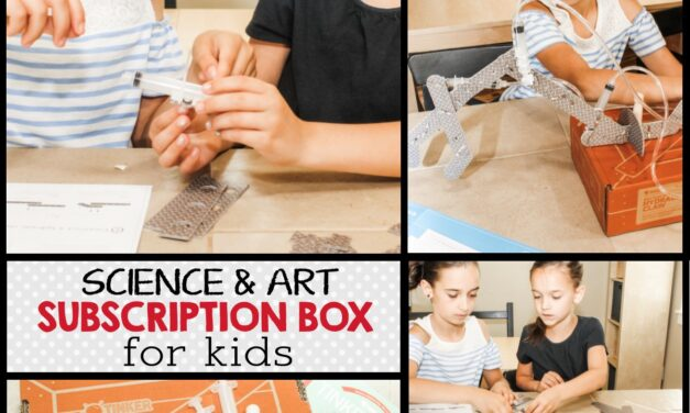 Hands-On Science and Art Projects + KiwiCo Review
