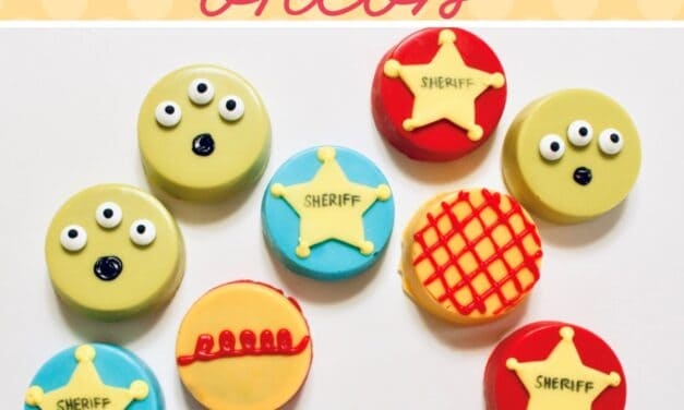 Easy Toy Story Cookies