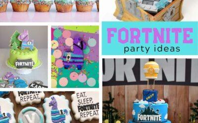 Epic Battle Royal Fortnite Birthday Party Ideas