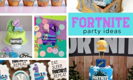 Epic Battle Royal Fortnite Birthday Party Ideas