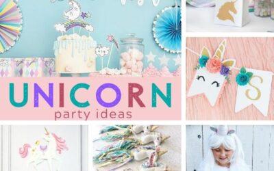 Magical Unicorn Party Ideas + Birthday Inspiration