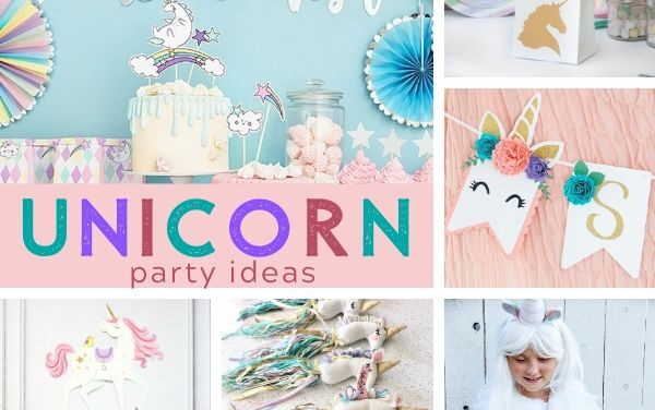 Magical Unicorn Party Ideas + Birthday Inspiration