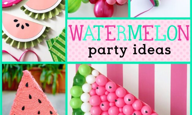 Watermelon Decorations + Party Ideas