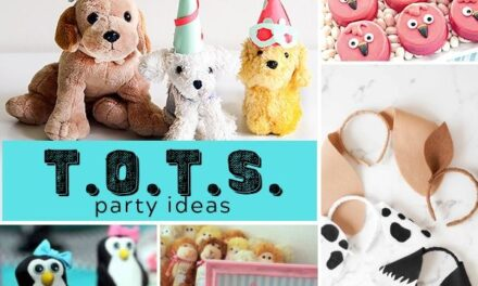 Ideas for a T.O.T.S. Animal Party