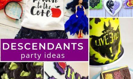 Villainously Fun Descendants 3 Party Ideas + Movie Review