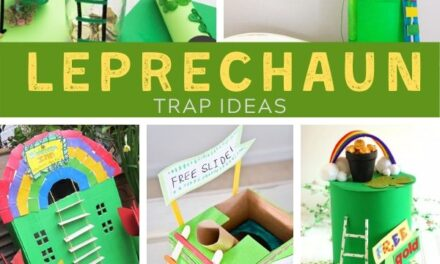 Simple + Amazing Leprechaun Traps for Busy Parents