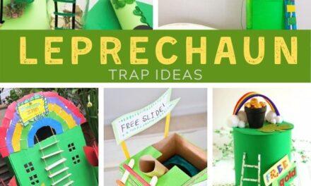 Simple + Amazing Leprechaun Traps for Busy Parents