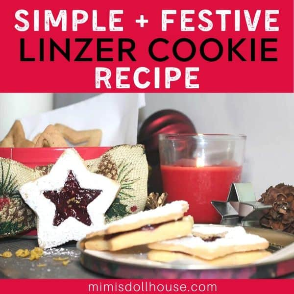 Simple Nut Free Linzer Cookies Recipe