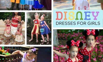 Perfect Disney Princess Dresses for a Disney Trip