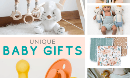 Trendy + Unique Baby Shower Gifts