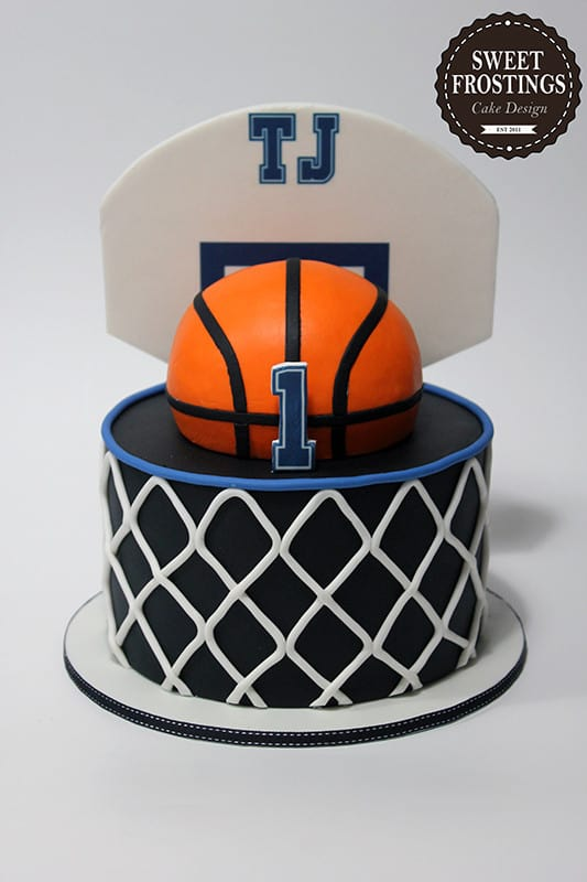 Admirable Basketball Cakes Cookies Food Ideas Mimis Dollhouse Funny Birthday Cards Online Alyptdamsfinfo