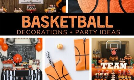 Basketball Party Ideas + March Madness Decorations