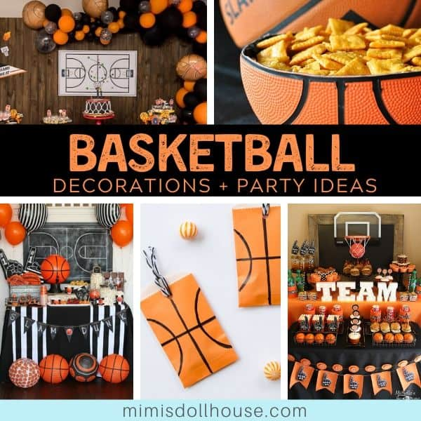 Basketball Party Ideas March Madness Decorations Mimi S Dollhouse