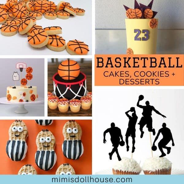 Pleasant Basketball Cakes Cookies Food Ideas Mimis Dollhouse Funny Birthday Cards Online Benoljebrpdamsfinfo