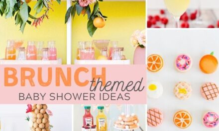 Adorable Baby Shower Brunch Ideas + Free Printables