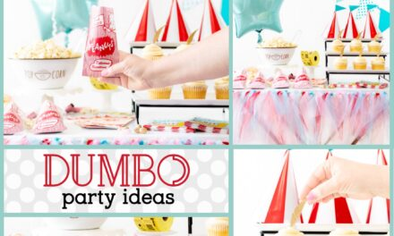 Festive Carnival Themed Dumbo Party Ideas