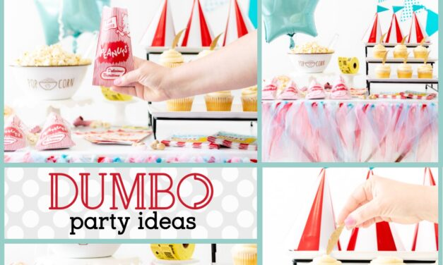 Festive Carnival Themed Dumbo Party Ideas