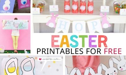 40+ Free Easter Printables to Get Easter Ready