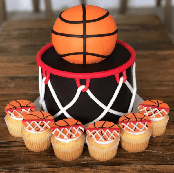 Basketball Cakes Cookies Food Ideas Mimi S Dollhouse