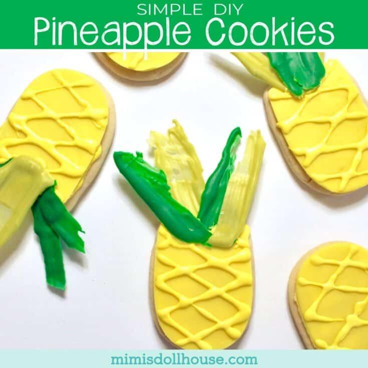 Simple + Delicious Pineapple Sugar Cookies