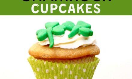 Easy Shamrock Cupcakes
