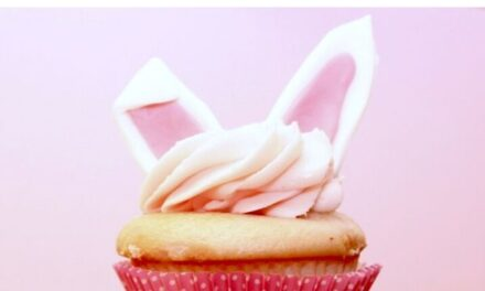 Super Simple DIY Bunny Cupcakes