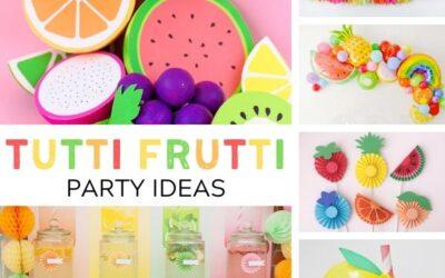 Fruity + Fresh Tutti Frutti Party Ideas
