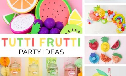 Fruity + Fresh Tutti Frutti Party Ideas
