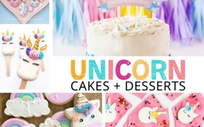 Stunning Unicorn Cake Ideas + Magical Desserts