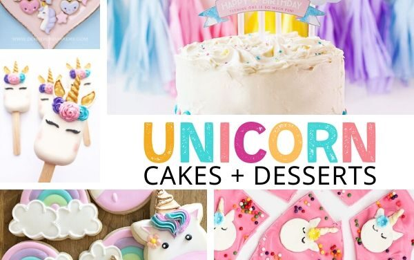 Stunning Unicorn Cake Ideas + Magical Desserts