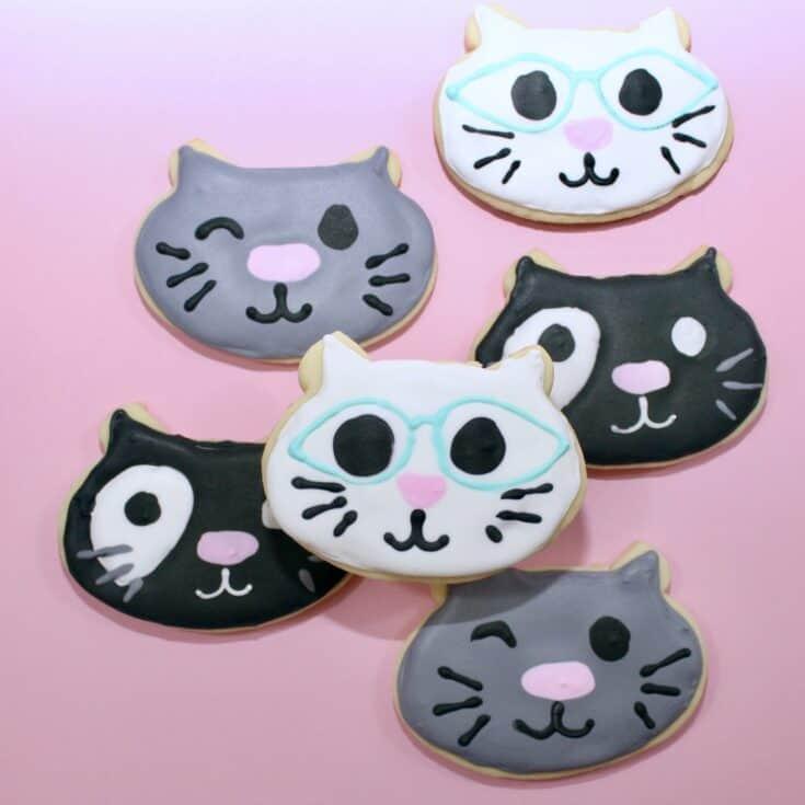 Purr-fect Cat Cookies Recipe