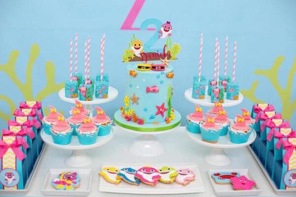 Adorable + Fun Baby Shark Birthday Ideas | Mimi's Dollhouse