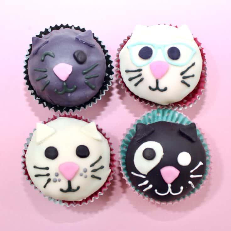 Purr-fect Cat Cupcakes