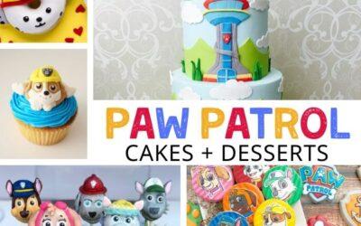 Paw Patrol Cakes, Desserts + Food Ideas