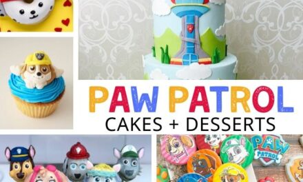 Paw Patrol Cakes, Desserts + Food Ideas